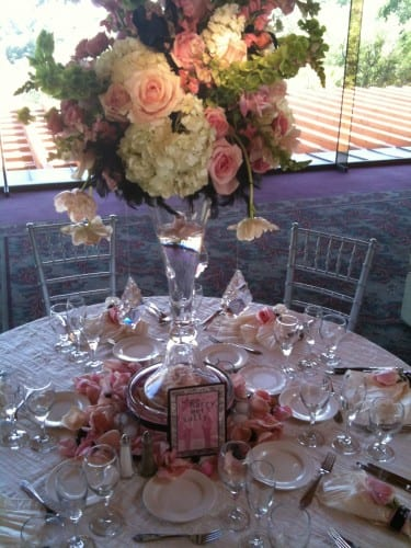 Jared & Christy's Centerpieces