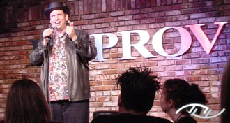 Wedding Entertainment Director® Peter Merry performing Stand-Up Comedy at the Irvine Improv. Click on this photo to watch his premier Improv performance on YouTube.